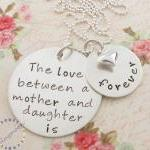 Hand Stamped Mother Daught..