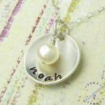 Mothers Hand Stamped Jewel..