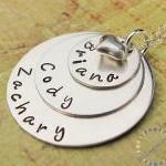 Gift for moms: Personalized sterlin..