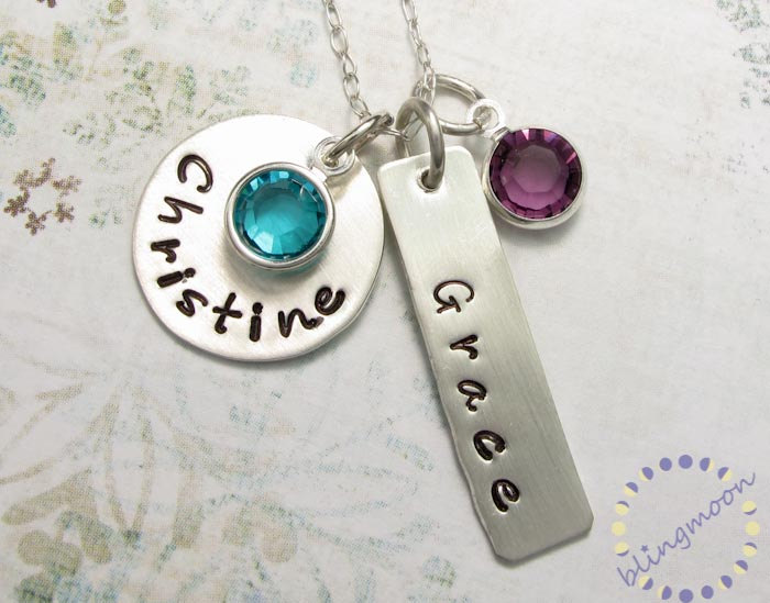 personalized jewelry charm necklaces for personalized